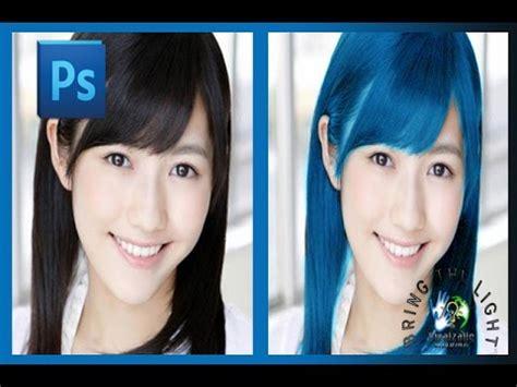 tutorial rambut indonesia cara merubah warna rambut dengan photoshop tutorial