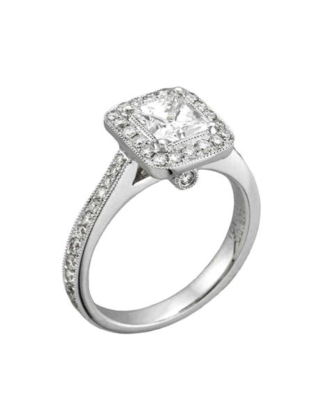 Princess Engagement Ring by Princess Cut Engagement Rings Martha Stewart