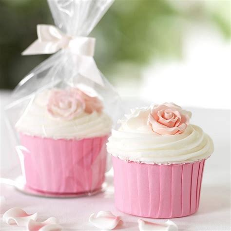 cupcake bags clearbags cbg4 cupcake bag sets for single