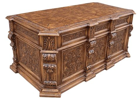 hand carved executive desk hand carved executive desk