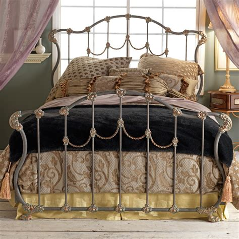 king wrought iron bed frame king size wrought iron bed frame size bed