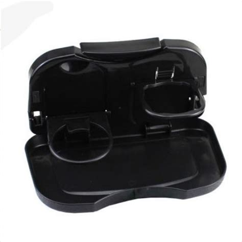 Car Multifunction Foldable Seat Back Meal Table Meja Lipat Mobil auto multifunction folding car back seat table drink food cup tablet tray holder sales