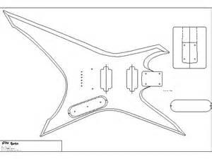 electric guitar templates lomins guitar plans gibson explorer