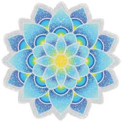 Blue Lotus Sale Blue Mandala Lotus Mat Bohemian Tassel Towel