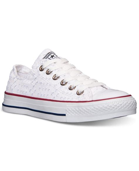 white eyelet sneakers converse s chuck ct ox eyelet sneakers from