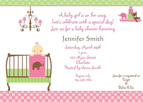 Baby Shower Diy Invitations by Baby Shower Invitation Printable Baby Shower Invitations