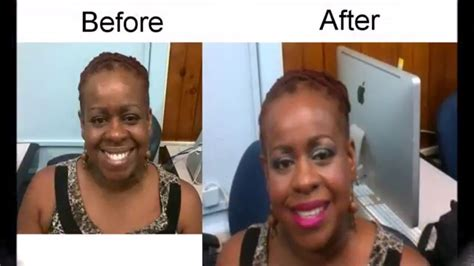 african american makeovers makeup for black skin makeover makeup over 50 youtube