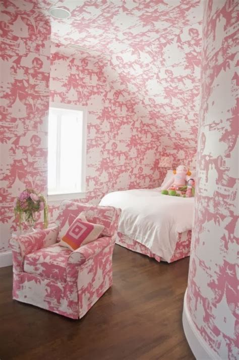pink bedroom wallpaper hydrangea hill cottage some wonderful s rooms