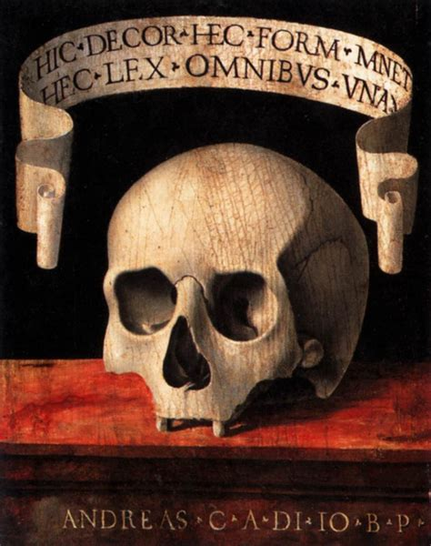 Memento Mori - specimen memento mori remedia