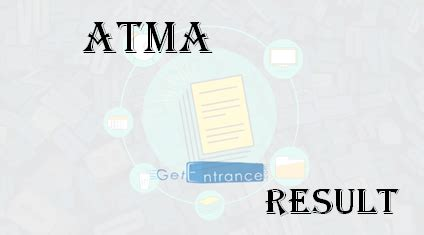 Atma Mba Cet Result atma 2017 results score card rank card getentrance