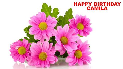 camila flowers happy birthday youtube