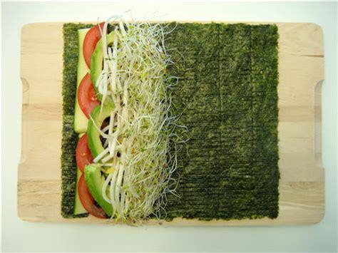 Nori Seaweed Sushi Roll Maker types of sea vegetables