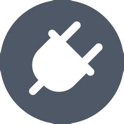plugin icon  glyph style   svg png eps