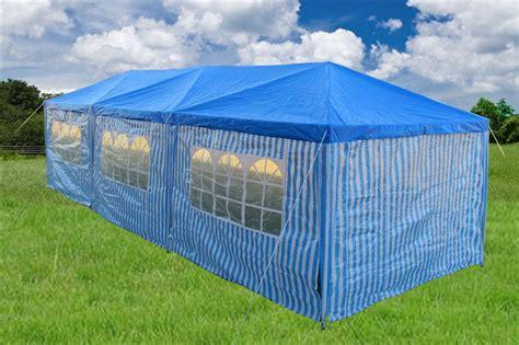 Gazebo Tent 10 X 30 Catering Blue Gazebo Tent Canopy