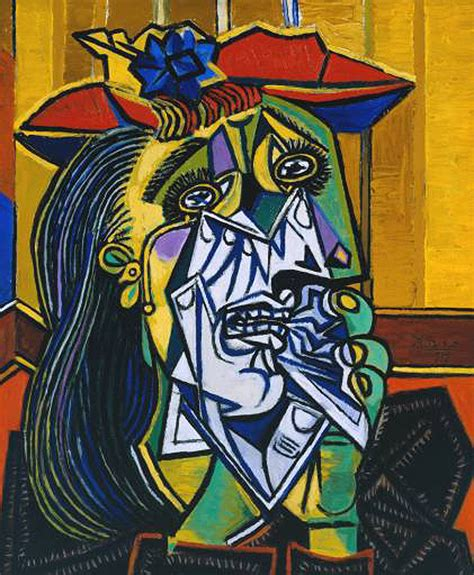 picasso paintings described you the weeping of picasso s truly god s artwork