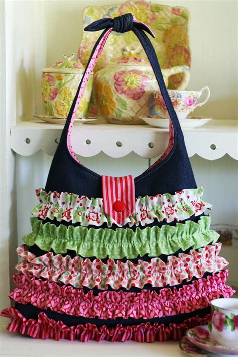 handmade cloth bag patterns art craft ideas