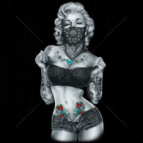 cartoon tattoo girl wallpaper gangster girl wallpaper wallpapersafari