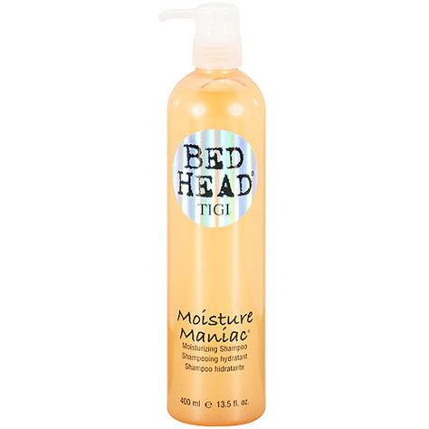 bed head moisture maniac tigi bed head moisture maniac moisturizing shoo 13 5