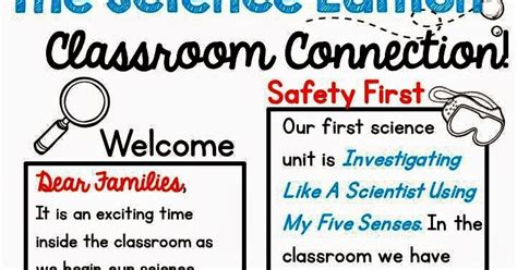 Little Miss Hypothesis Lessons From The Science Lab Science Newsletter Template Science Newsletter Template