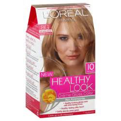 healthy look hair color l oreal healthy look hair dye creme gloss color soft