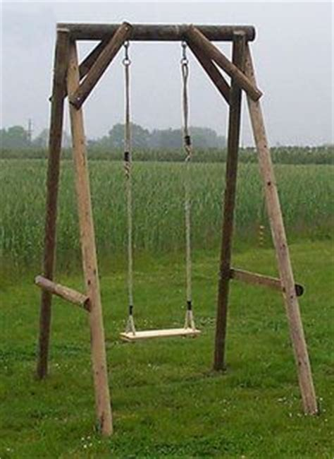 t frame swing set robust wooden swing frame for the garden swing seats can