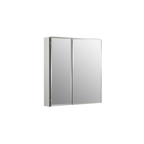 lowes kohler medicine cabinet shop kohler 25 in x 26 in rectangle recessed mirrored