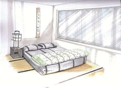 interior design bedroom sketches hand drafting rendering rui monteiro archinect