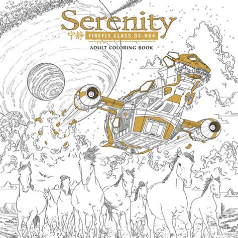 firefly dark horse to put out serenity coloring
