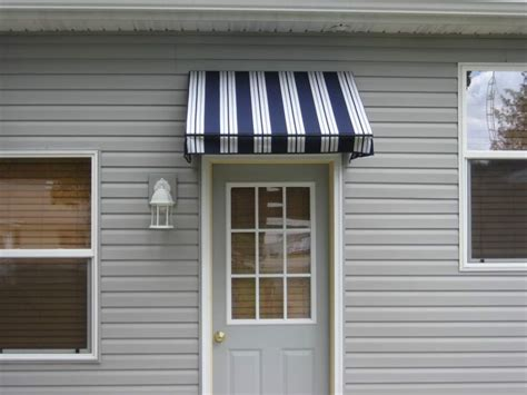 The Door Awning by Stationary Window And Door Awnings Sun And Shade Awnings