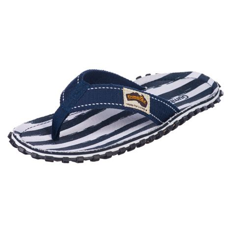 navy mens sandals gumbies mens islander flip flop s navy stripe