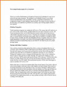 Sample Business Plan Report Sample Restaurant Business Plan Sales Report Template