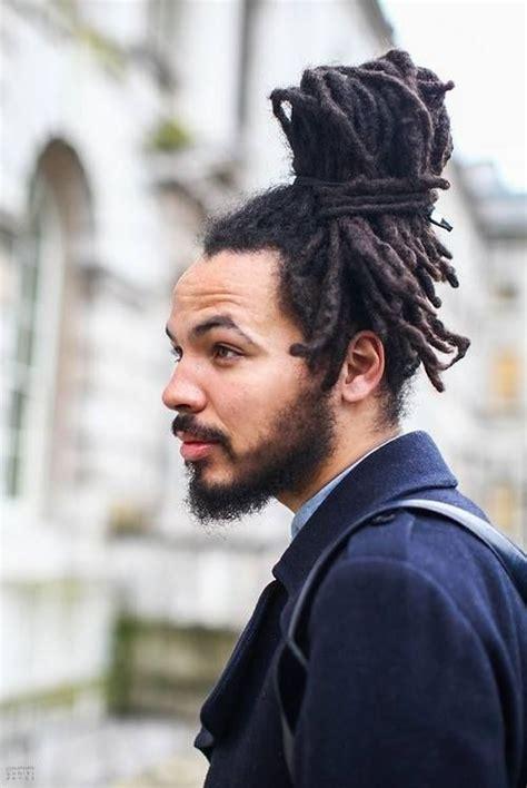 loc bun for men 15 superb dreadlocks hairstyles for men black men haircuts