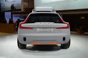 How Much Is A Volvo Service Volvo Xc Coupe Concept 2014 Naias
