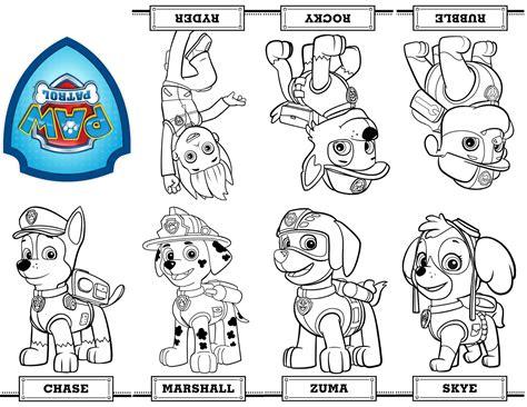 paw patrol lookout coloring page dibujos de la patrulla canina para colorear paw patrol