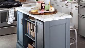 kitchens islands how to build a diy kitchen island