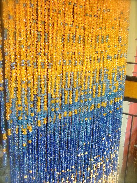 Acrylic Beaded Curtains Chagne Pinkblue Gold Acrylic Bead Curtain Memories Of A Butterfly Buy Beaded Curtain