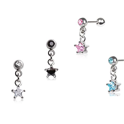 cartilage earrings 18g images