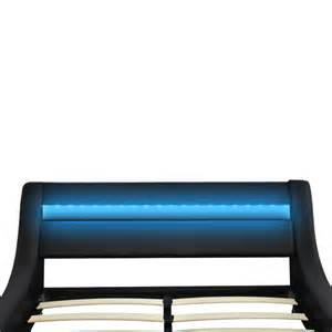 la boutique en ligne lit en similicuir avec t 234 te de lit
