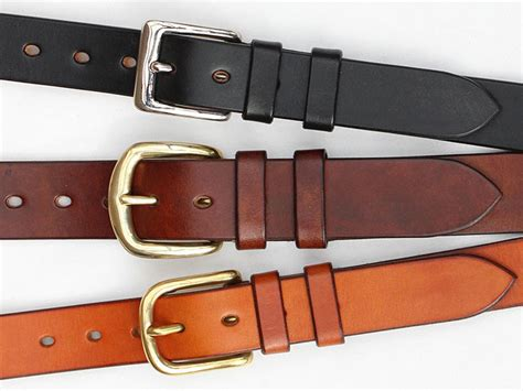quality handmade leather belts oak bark leather