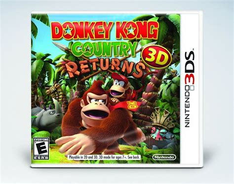 Kaset Kong Country Returns 3d 3ds support