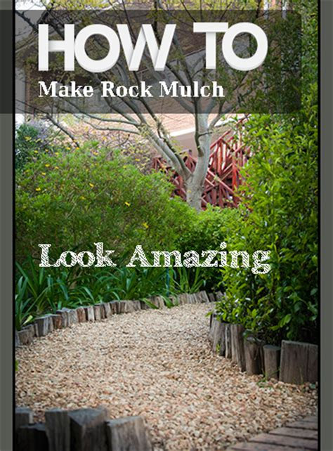 how to make rock mulch look amazing bless my weeds