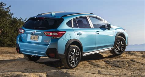 2019 subaru hybrid 2019 subaru xv crosstrek hybrid officially revealed