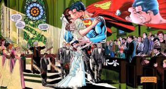 superman wedding album superman and five reasons it won t work