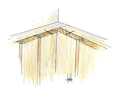 rivestire una parete in legno perline in legno rivestimento di una parete angolare