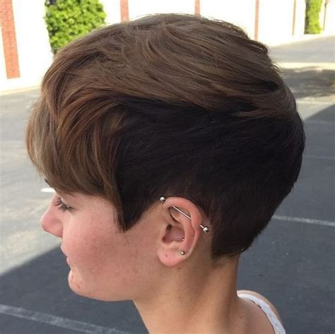 haircut for womens sideburns curl sideburns for women short hairstyle 2013
