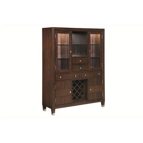 broyhill furniture northern lights dining chest 531260 broyhill northern lights dining chest in dark walnut stain