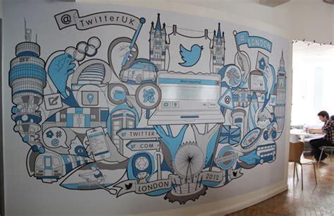 Designer Wall Murals 21 incredibly cool design office murals creative bloq