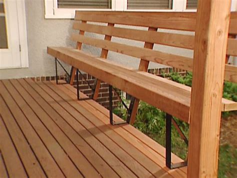 deck railing bench deck railing storage seating how to add built in seating