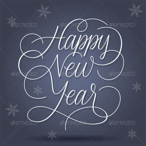 happy new year in font happy new year greetings by ildogesto graphicriver