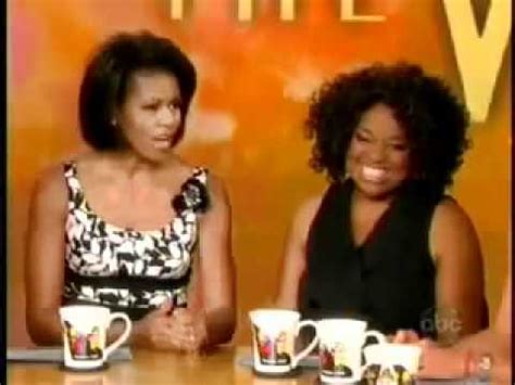 michelle obama on the view michelle obama co hosting on the view summer 2008 youtube